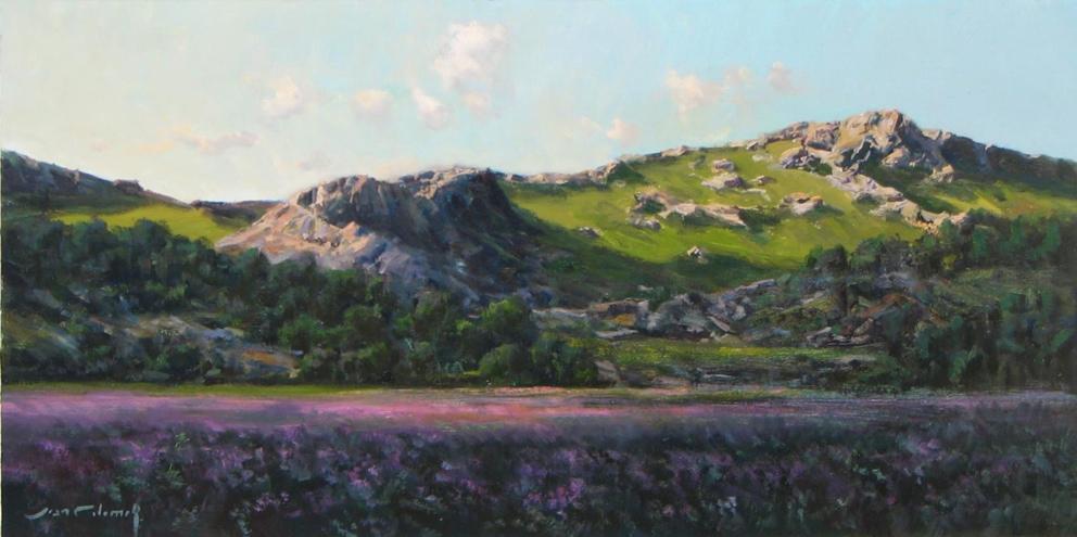 414- Lavender Hill 12 x 24