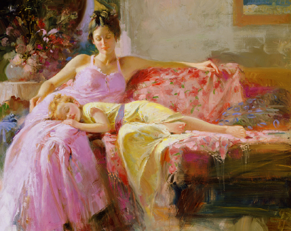 A Place in My Heart by Artist Pino Daeni Artwork