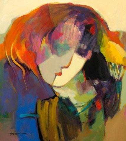 Alina by Hessam Abrishami 20 x 18