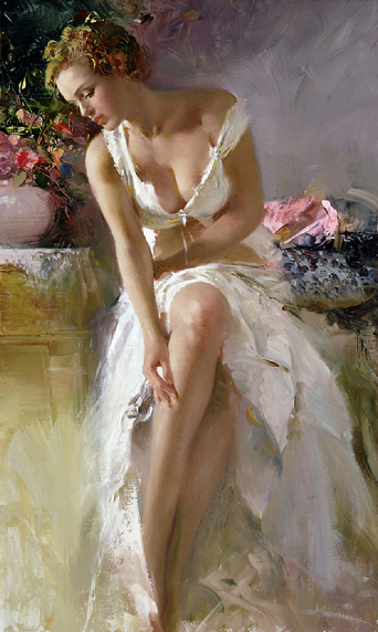 Angelica by Artist Pino Daeni Artwork