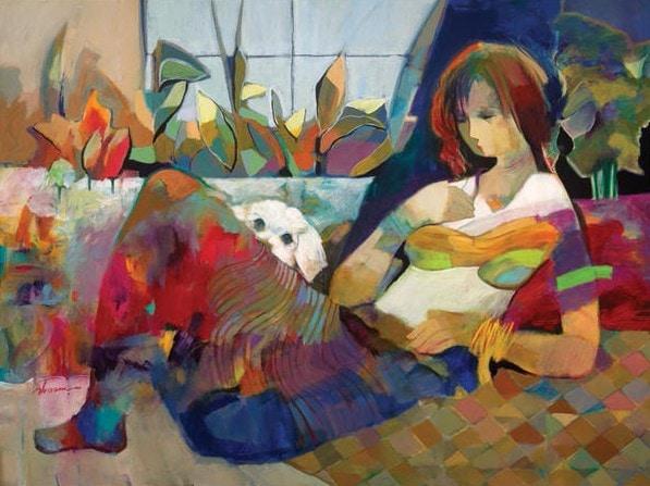 Beautiful Feeling by Hessam Abrishami 30 x 40