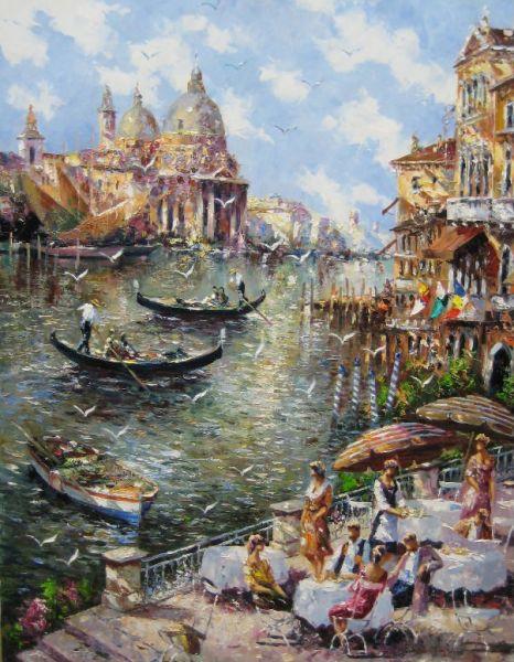 CHRISTIAN JERECZEK ARTIST - Venice by Christian Jereczek