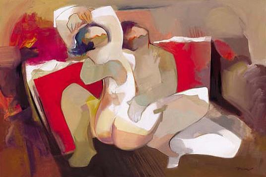 Closer Hearts by Hessam Abrishami 24 x 36 Low