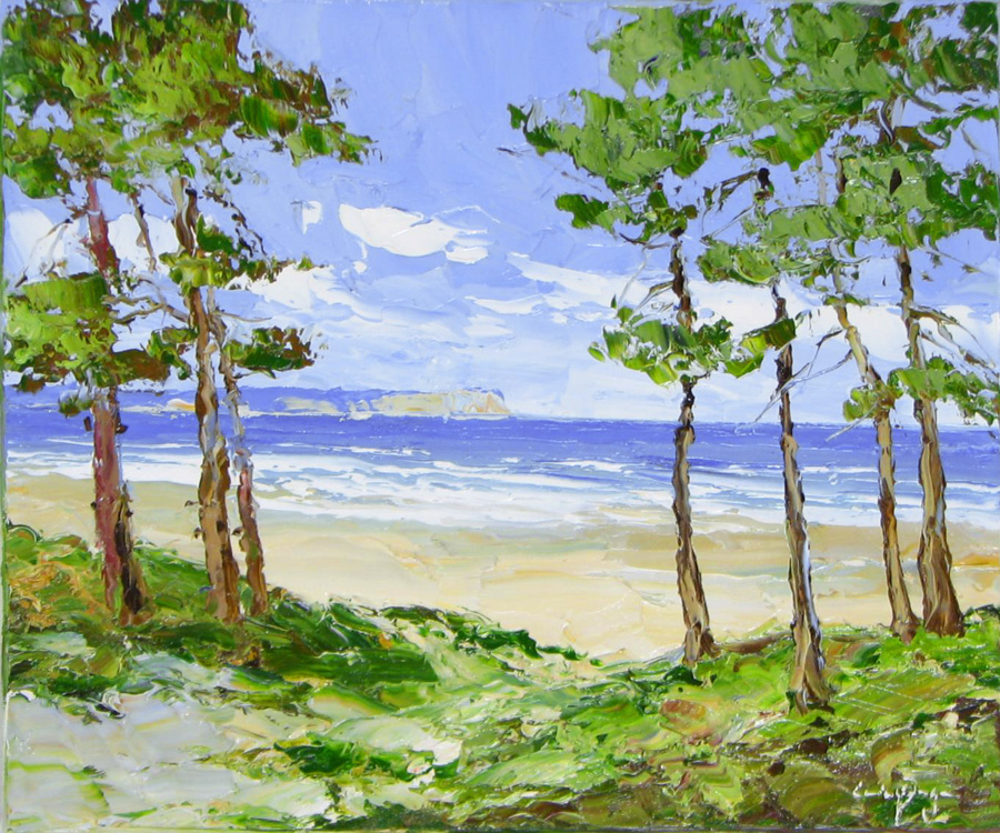 Coastal Morning - 20 x 24 - Paulsen Artist - Original Painting - Art Eric Paulsen