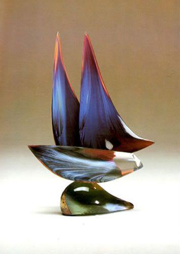 DINO ROSIN ARTIST - Sailboat by Artist Dino Rosin