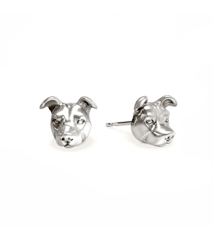 DOG FEVER - DOG EARRINGS - american staffordshire earrings