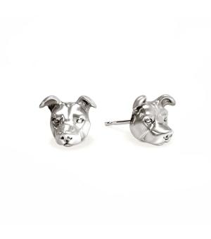 DOG FEVER - DOG EARRINGS - american staffordshire earrings