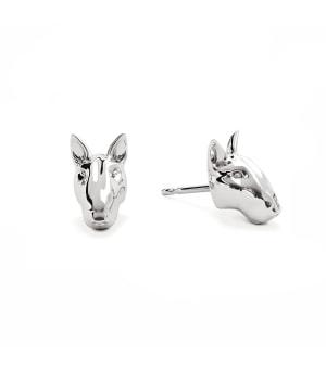 DOG FEVER - DOG EARRINGS - bull terrier earrings