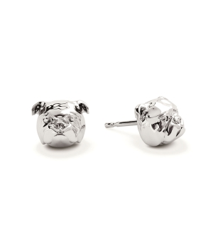 DOG FEVER - DOG EARRINGS - english bulldog earrings