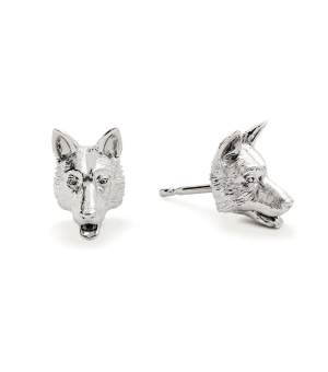 DOG FEVER - DOG EARRINGS - german shepherd earrings