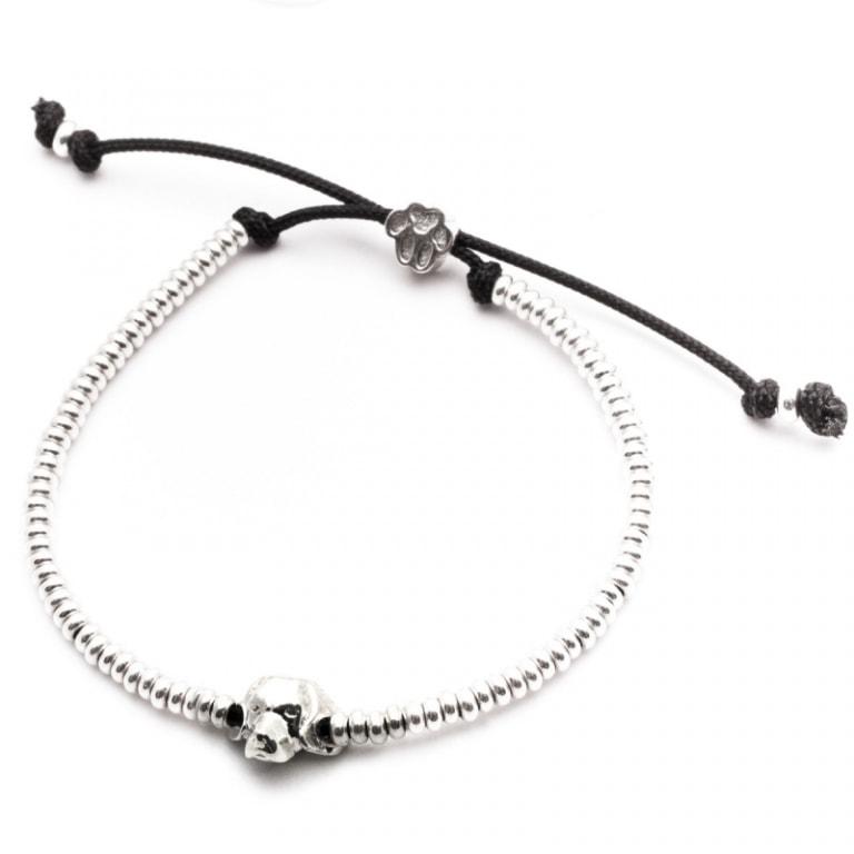 DOG FEVER - DOG HEAD BRACELETS - beagle silver head bracelet