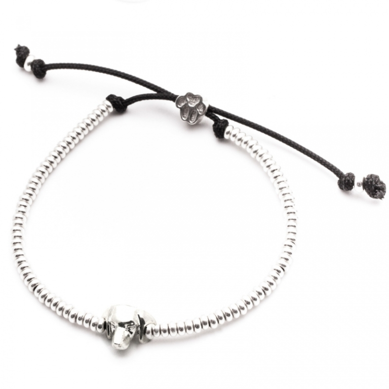 DOG FEVER - DOG HEAD BRACELETS - dachshund silver head bracelet