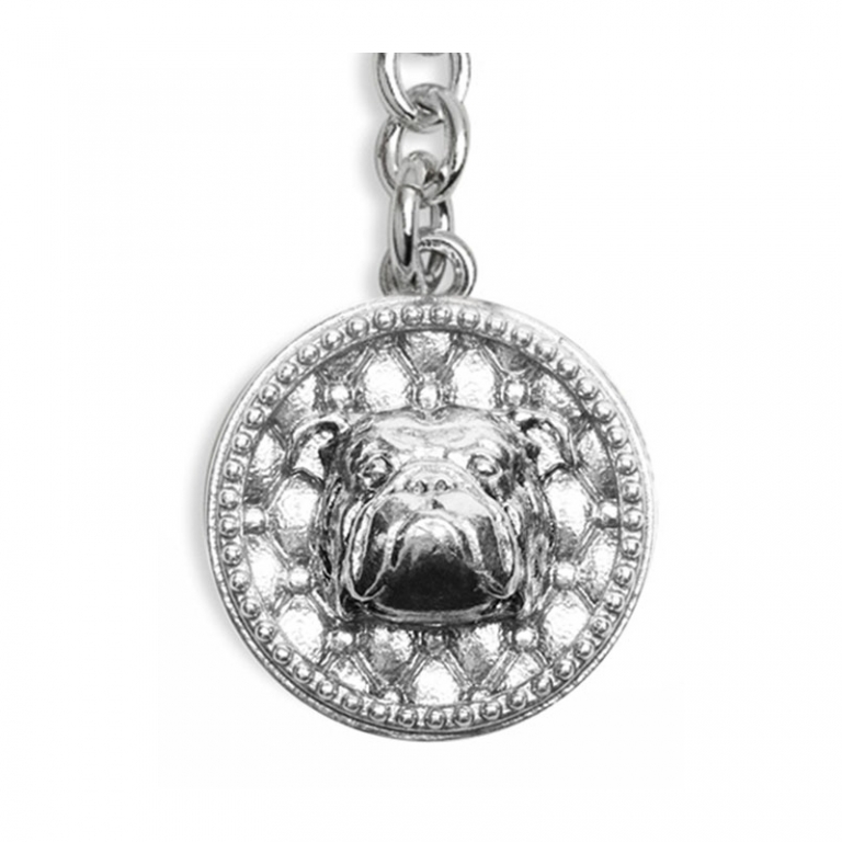 DOG FEVER - DOG KEY HOLDER - english bulldog keyring