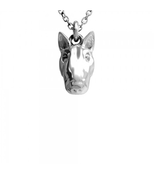 DOG FEVER - DOG PENDENT - head pendant bull terrier