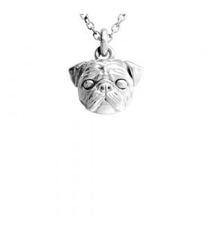 DOG FEVER - DOG PENDENT -pug pendant