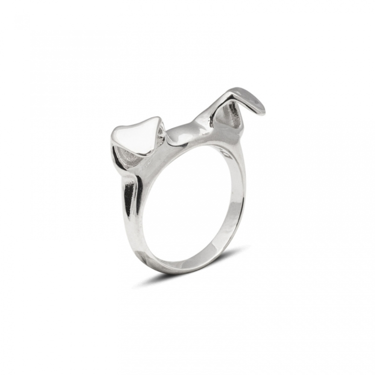 DOG FEVER - DOG RING - FINE RINGS - simple fine ring