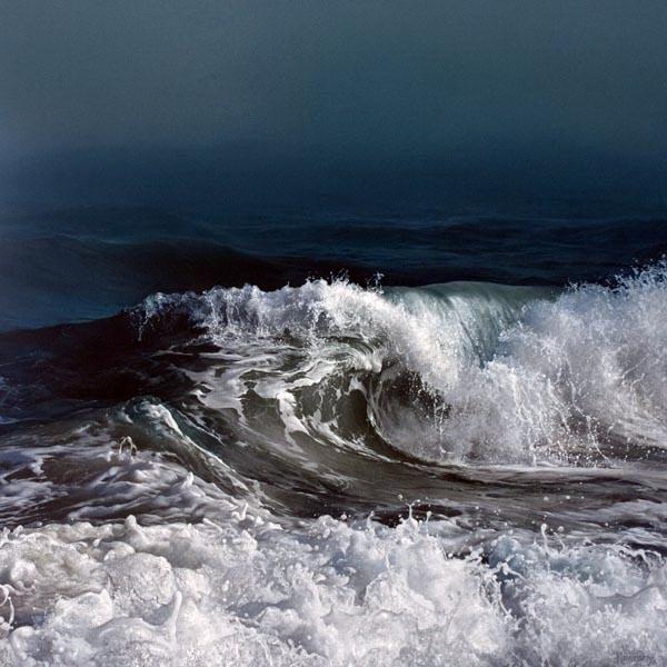 Dancing Tide by Artist Vadim Klevenskiy - Wave Painting