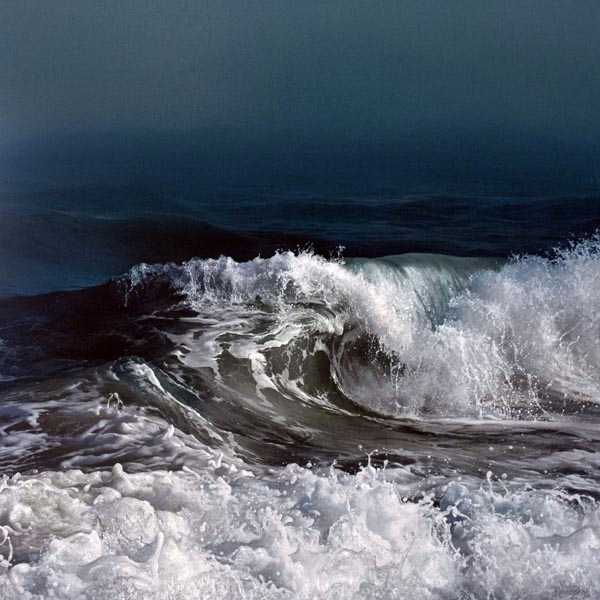Dancing Tide by Artist Vadim Klevenskiy - Wave Painting