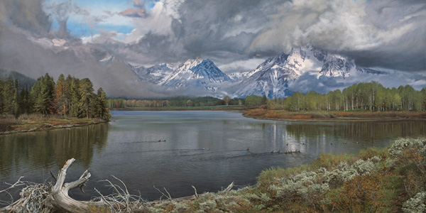 Driftwood The Owbow Bend by Phillip Philbeck