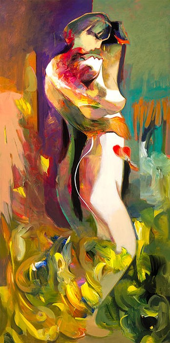 Edge of Bliss by Hessam Abrishami 48 x 24