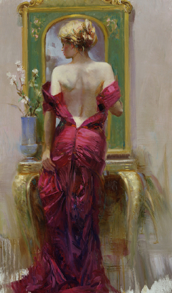 Elegant Seduction by Artist Pino Daeni Artwork