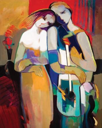 Eternally by Hessam Abrishami 30 x 24