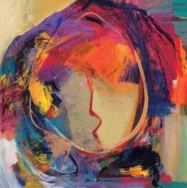 Faces - Venentia by Hessam Abrishami 12 x 12