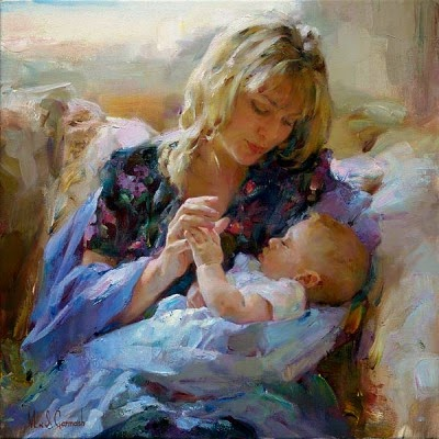 GARMASH ARTIST - Tender Moments by Garmash Artist