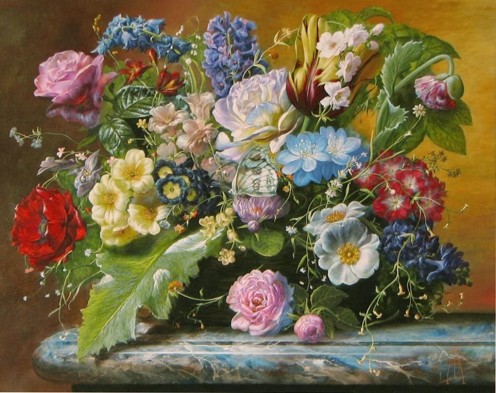 GYULA SISKA ARTIST 16 x 20 Natures Cradle