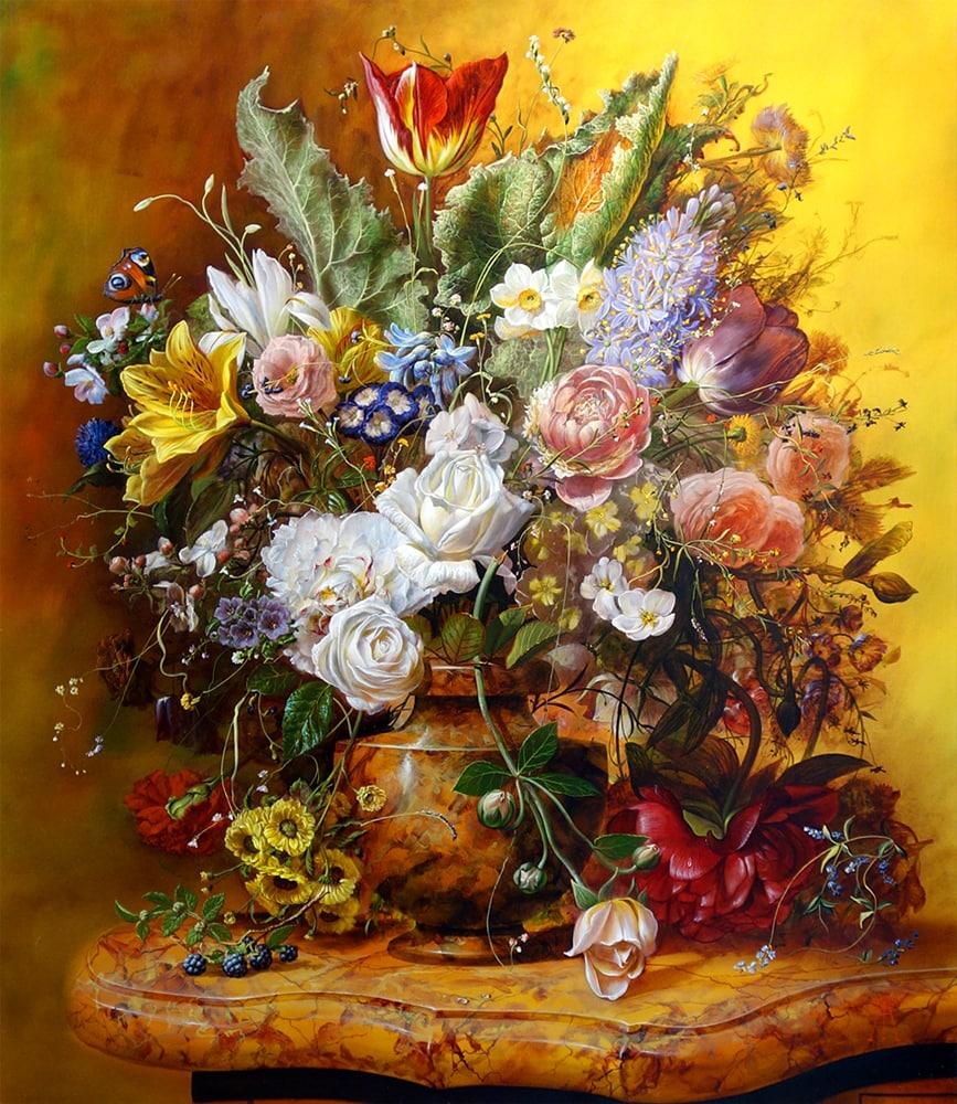GYULA SISKA ARTIST - Autumn Mosaic