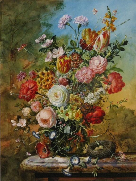 GYULA SISKA ARTIST Floral Paintings by Gyula Siska 1