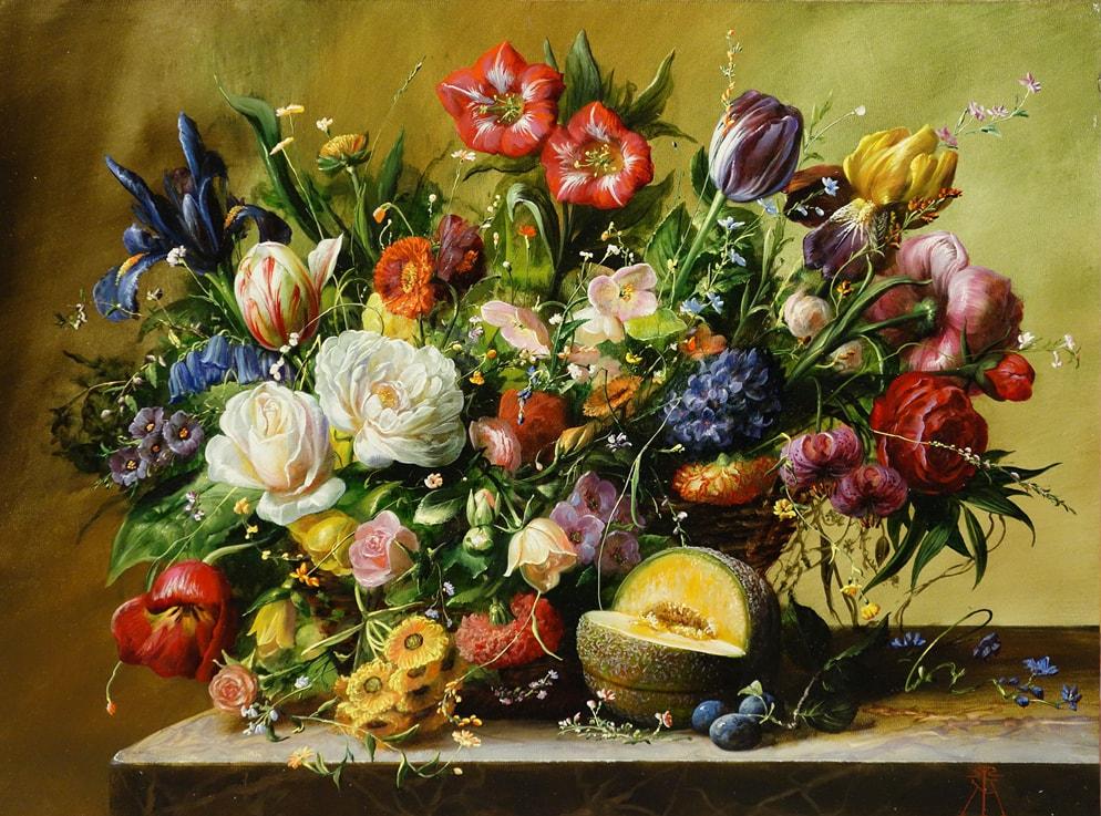 GYULA SISKA ARTIST - Wild Bouquet