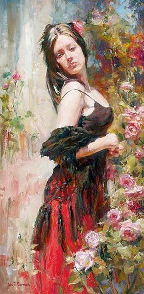 Garmash Artist - M I Garmash Artwork - Breaking Free by Garmash