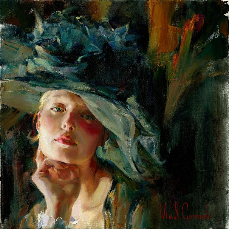 Garmash Artist - M I Garmash Artwork - Captivating by Garmash