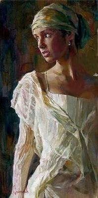 Garmash Artist - M I Garmash Artwork - Gentle Light by Garmash