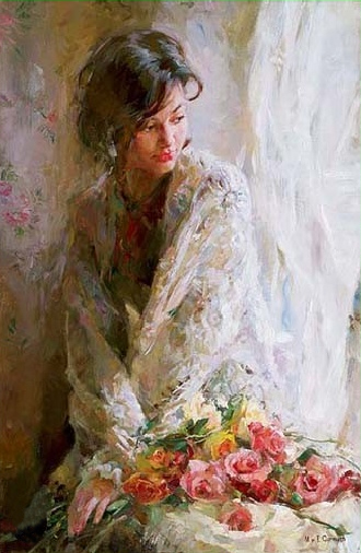 Garmash Artist - M I Garmash Artwork - Morning Beauty by Garmash