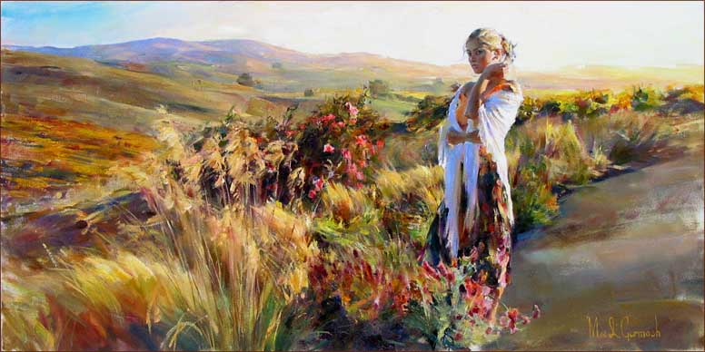 Garmash Artist - M I Garmash Artwork - Promise by Garmash