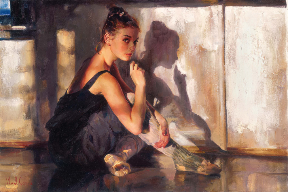 Garmash Artist - M I Garmash Artwork - State of Grace by Garmash