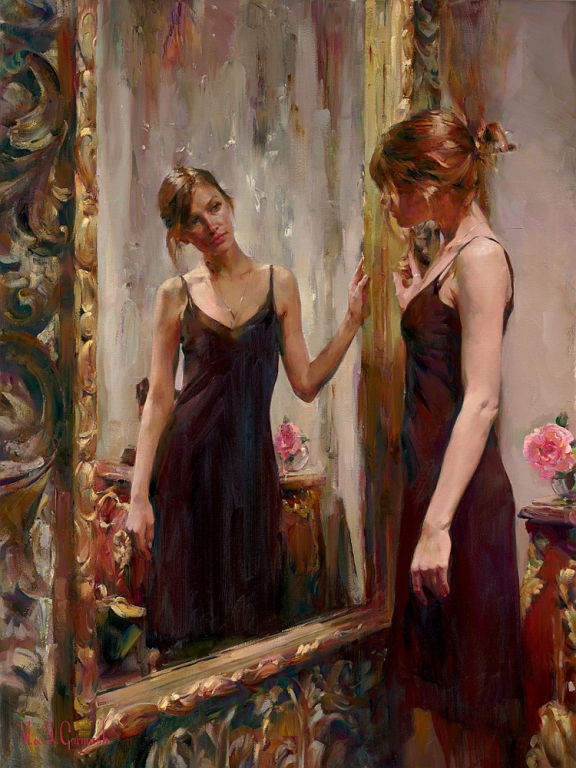 Garmash Artist - M I Garmash Artwork - Timeless Beauty by Garmash