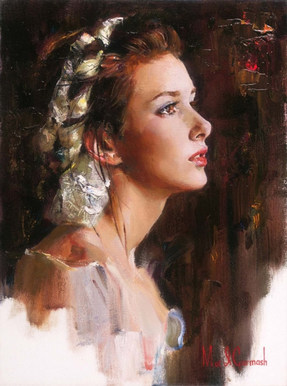 Garmash Artist - M I Garmash Artwork - Tomorrow Will Come by Garmash