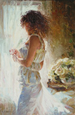 Garmash Artist - M I Garmash Artwork - Waiting for Love by Garmash