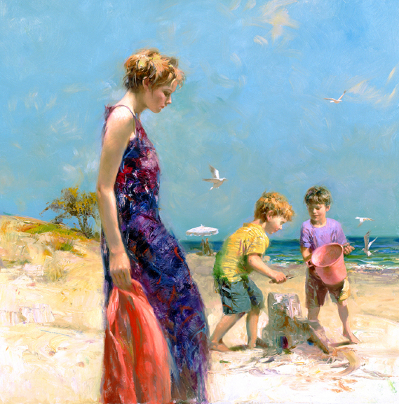 Good Ole Days by Artist Pino Daeni Artwork