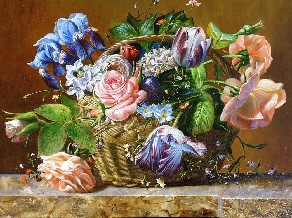 Gyula Siska - Floral Harvest uf