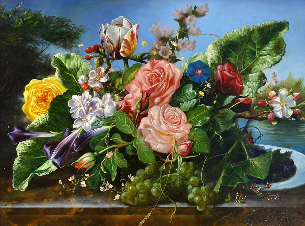 Gyula Siska - Floral Harvest