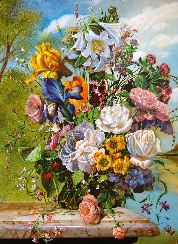Gyula Siska Patio Floral 2