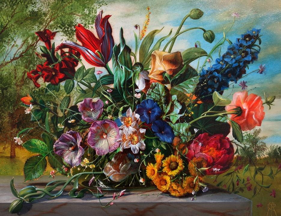 Gyula Siska Summer Tapestry