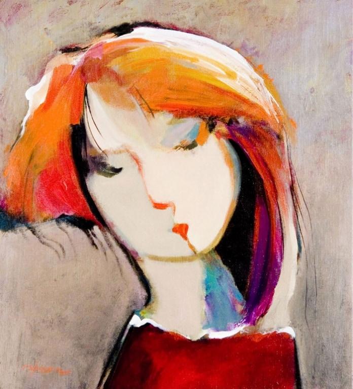 HESSAM ARTIST - Original Painting Simply New