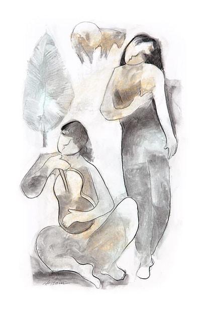 Hessam Abrishami Sketch