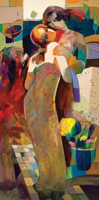 In My Arms by Hessam Abrishami 48 x 24