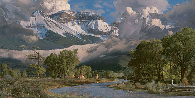 In the San Juan Mountains by Phillip Philbeck
